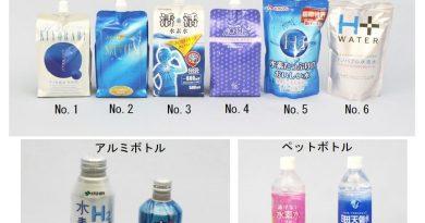 氫水- 日本 水素水 真假 氫水實驗 檢測報告