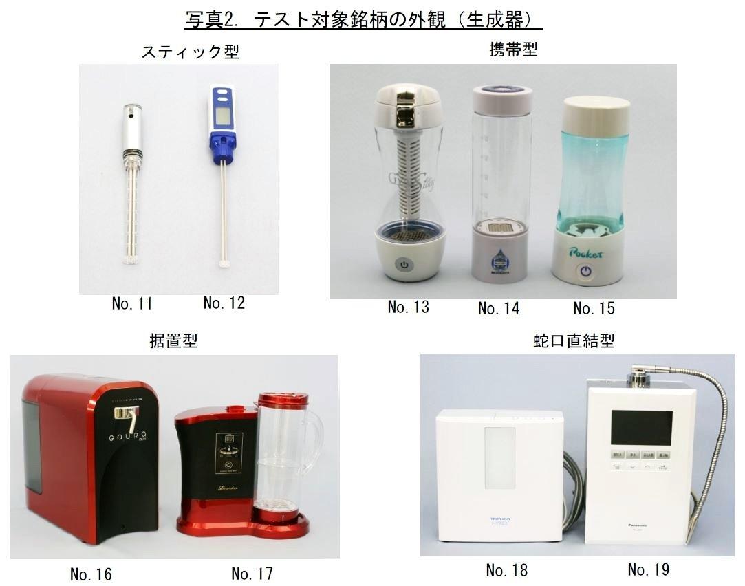 氫水 日本 水素水 真假 檢測報告 3