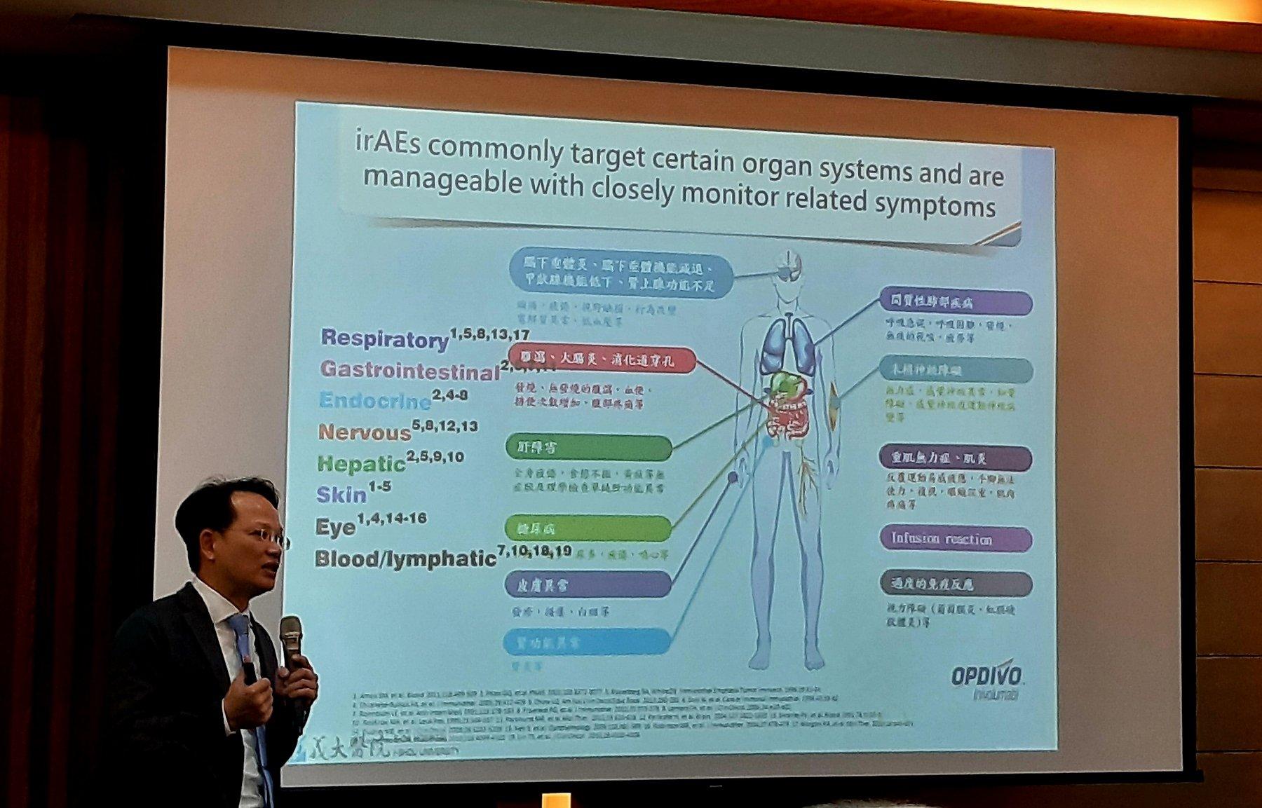 氫氧免疫輔助療法應用新趨勢研討會-義大醫院胸腔內科主任魏裕峰醫師