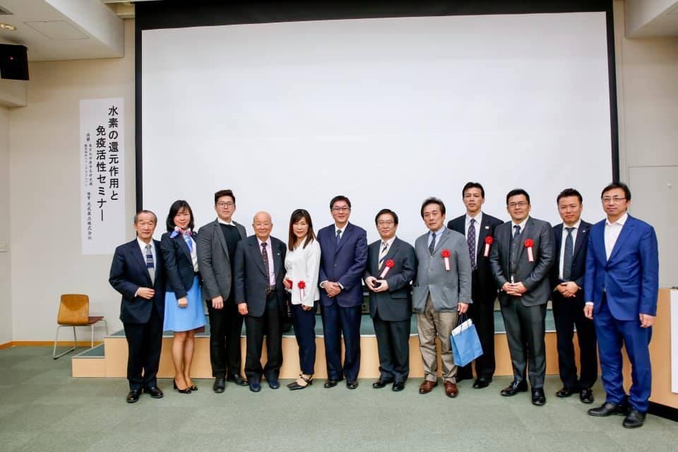東京大學氫氣還原作用及免疫活性研討會12-主要與會人士合照