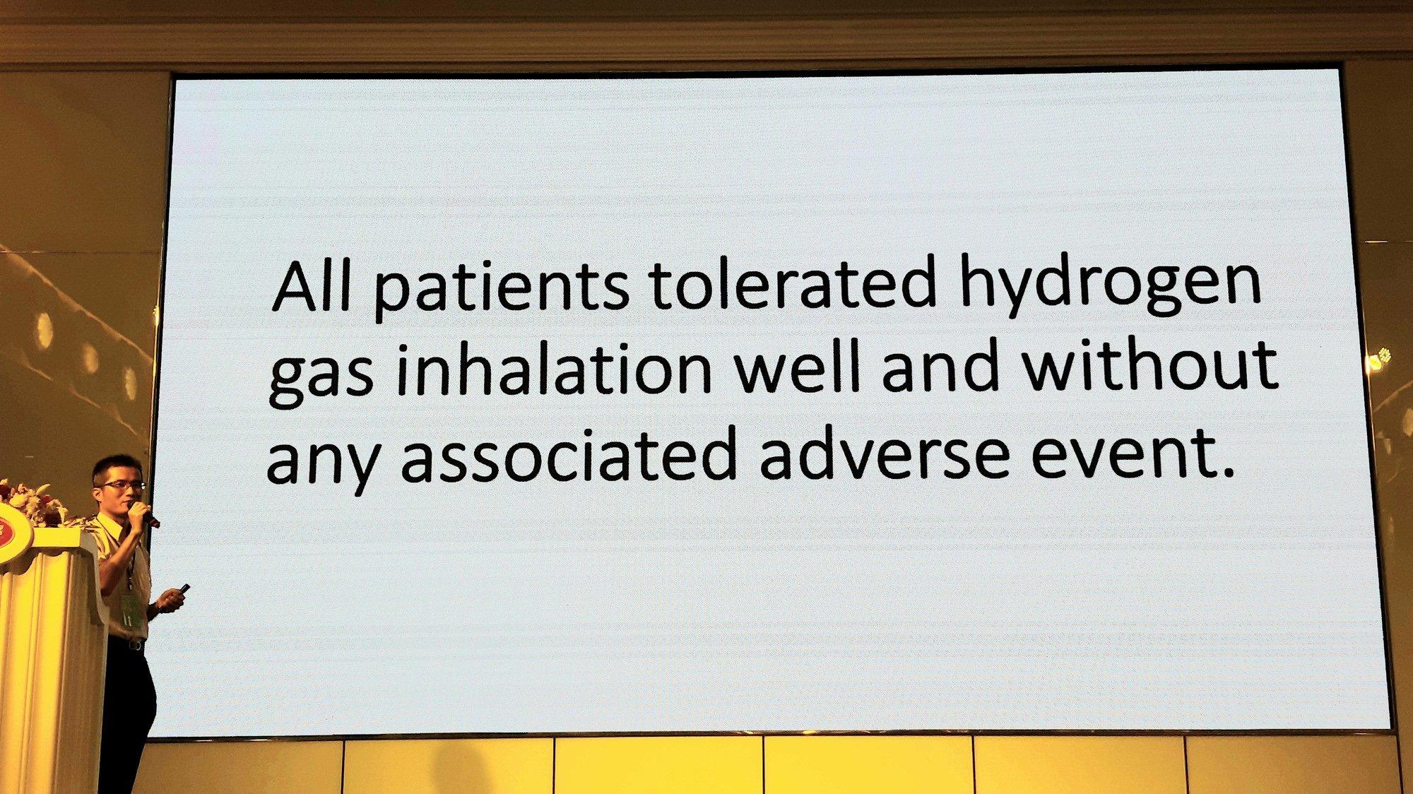氫分子醫學研討會-29 氫氣吸入對於標靶藥物誘導之皮膚副作用的影響-義大 呼吸胸腔內科 陳俊榮醫師 及 癌治療醫院 黃明賢副院長